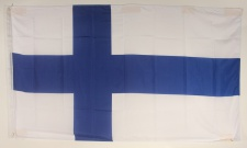 Finnland Flagge Großformat 250 x 150 cm wetterfest