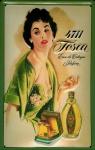 Blechschild 4711 Tosca (1) Fläschchen Eau de Cologne kölnisch Wasser Parfum S...