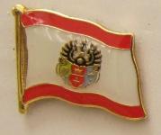 Pin Anstecker Flagge Fahne Königsberg Stadtflagge Kaliningrad Ostpreussen kön...