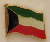 Kuwait Pin Anstecker Flagge Fahne Nationalflagge
