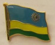 Ruanda Pin Anstecker Flagge Fahne Nationalflagge