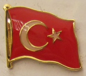 Türkei Pin Anstecker Flagge Fahne Nationalflagge