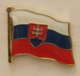 Pin Anstecker Flagge Fahne Slowakei Nationalflagge