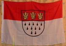 Köln Flagge Großformat 250 x 150 cm wetterfest
