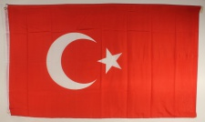 Türkei Flagge Großformat 250 x 150 cm wetterfest