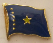 Kongo Kinshasa alt Pin Anstecker Flagge Fahne Nationalflagge