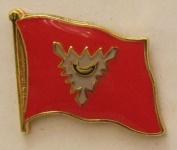 Pin Anstecker Flagge Fahne Kiel Stadtflagge