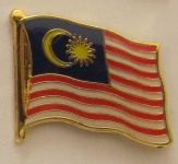 Malaysia Pin Anstecker Flagge Fahne Nationalflagge