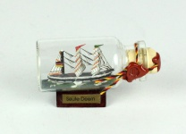 Seute Deern Mini Buddelschiff 10 ml 5x2 cm Flaschenschiff