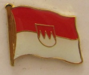 Pin Anstecker Flagge Fahne Franken Flaggenpin Button Badge Flaggen Clip Anste...