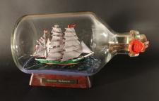 Rickmer Rickmers 1 Liter Apothekerflasche Buddelschiff Flaschenschiff