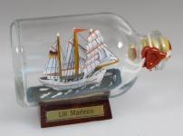 Lili Marleen Mini Buddelschiff 50 ml ca. 7, 2 x 4, 5 cm Flaschenschiff