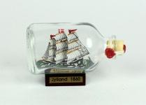 Jylland Dänemark Mini Buddelschiff 50 ml ca. 7, 2 x 4, 5 cm Flaschenschiff