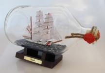 Eagle US Coastguard 2 Liter Apothekerflasche Buddelschiff Flaschenschiff