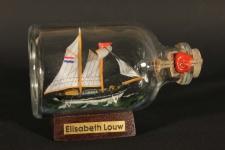 Elisabeth Louw Mini Buddelschiff 50 ml ca. 7, 2 x 4, 5 cm Flaschenschiff