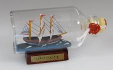 Bounty Mini Buddelschiff 50 ml ca. 7, 2 x 4, 5 cm Flaschenschiff
