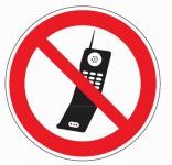 Aluminium Verbotsschild Handy benutzen verboten verschiedene Größen 0, 6 mm Alu