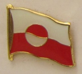 Pin Anstecker Flagge Fahne Grönland Flaggenpin Button Badge Flaggen Clip Anst...