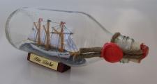 Alte Liebe runde Flasche 0, 3 Liter Buddelschiff Flaschenschiff