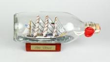 Sea Cloud runde Flasche 0, 3 Liter Buddelschiff Flaschenschiff