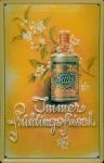 Blechschild 4711 Immer Frühlingsfrisch (1) Blüte Kosmetik kölnisch Wasser Sch...