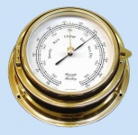 Barometer 150 mm Messing 70mm Tiefe