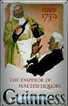 Blechschild Guinness Bier since 1759 Emperor of Malted Liquors nostalgisches ...