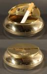 Klappascher 10 cm aus Messing Aschenbecher Ascher