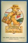 Blechschild Nostalgieschild Teddy Tum Tum Bär Spielzeug Teddybär