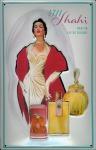 Blechschild 4711 Shahi Eau de Cologne kölnisch Wasser Parfum Schild Werbeschi...