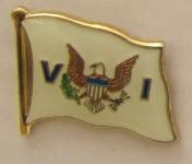 Virgin Islands USA Jungfraueninsel Pin Anstecker Flagge Fahne Nationalflagge