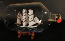 Gorch Fock 5 Liter Apothekerflasche Buddelschiff Flaschenschiff