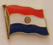 Paraguay Pin Anstecker Flagge Fahne Nationalflagge