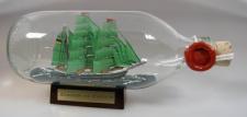 Alexander von Humboldt runde Flasche 0, 3 Liter Buddelschiff Flaschenschiff