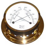 Schiffs Thermometer / Hygrometer 110 mm Professionell