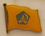 Bali Pin Anstecker Flagge Fahne Inselflagge