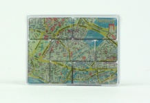 Magnet Set Hamburg Stadtplan 7-teilig Souvenirs Andenken