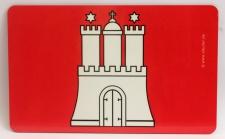 Frühstücksbrett Hamburg Wappen Burg Brettchen Frühstück Brett 23, 5 x 14, 3 x 0...