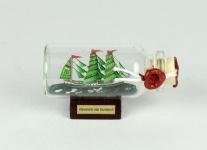 Alexander von Humboldt Mini Buddelschiff 10 ml 5x2 cm Flaschenschiff