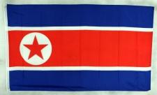 Nordkorea Flagge Großformat 250 x 150 cm wetterfest