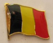 Pin Anstecker Flagge Fahne Belgien Nationalflagge Flaggenpin Button Badge Fla...