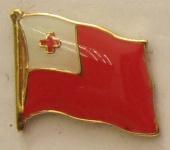 Tonga Pin Anstecker Flagge Fahne Nationalflagge