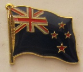 Neuseeland Pin Anstecker Flagge Fahne Nationalflagge