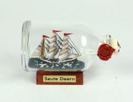 Seute Deern Mini Buddelschiff 50 ml ca. 7, 2 x 4, 5 cm Flaschenschiff