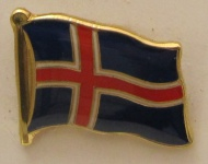 Pin Anstecker Flagge Fahne Island Nationalflagge