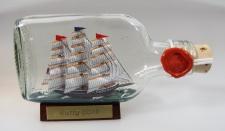 Cutty Sark Buddelschiff Flachmann 0, 1 Liter ca. 13x7 cm Buddelschiff Flaschen...