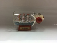 Eagle Mini Buddelschiff 10 ml 5x2 cm Flaschenschiff
