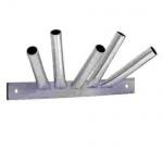 5-fach Masthalter Stahl feuerverzinkt 15 mm