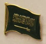 Saudi Arabien Pin Anstecker Flagge Fahne Nationalflagge