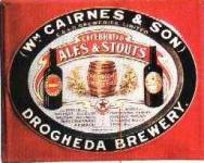 Blechschild Cairnes & Son Stout Ale Bier Schild retro Nostalgieschild